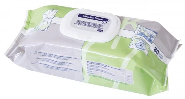 Mikrobac Tissues Flowpack 80 Tücher