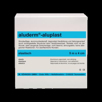 aluderm®-aluplast elastisch 5 m x 4 cm