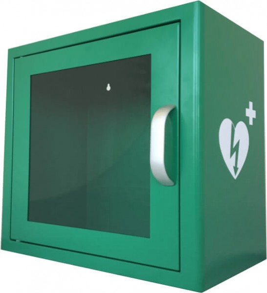 AED Wandschrank - Metall Indoor Wandschrank mit Alarm - Aktion