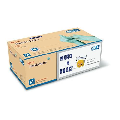 WIBUPLUS NITRIL-HANDSCHUHE - Großpackung - 200er Pack